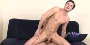 Boozed dude sucks and rides gay cock