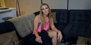 Blonde Blake Eden takes big cock in her mouth and then gets creampied № 1689620 загрузить