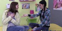 Slutty teen lesbos climax