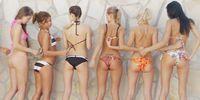 7 girls sexy nude art