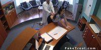 Doctor fucks patient at reception