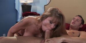 Brazzers - Mommy Got Boobs - Dont Cum on my Sheets scene starring Darla Crane  Danny Mountain