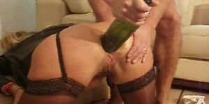 Anal fisting collection wine bottle pic 656