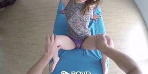 POVD - Petite Kristen Scott shows off her sex skills POV style Porn Videos