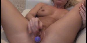 HomeGrownVideo\'s Blonde Fucks Herself And A Huge Cock