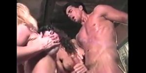 Stroking Peter North\'s gorgeous dick