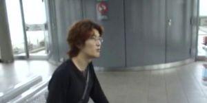 Japanse publiek blowjob