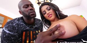 Sophia Leone Enjoys Plowing a Bbc in Different Angles
