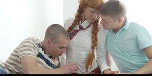 Lusthd Braided Redhead European Schoolgirl Teen In Fantasy