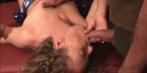 Huge gangbangs with over 50 men using these slutwives