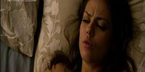 Celeb Mila Kunis fucked on camera