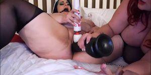 Bbw porn sexy - Sexy redhead bbw eliza makes lyla everwettt her slave