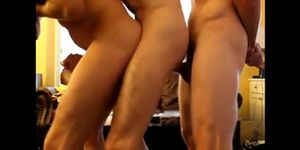Amateur Gay Threesome Vid 2