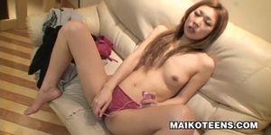 Miho Komuro - Doggy Style Fucking For A Hot JAV Teen