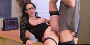 From two big cocks become three big meat banging Chanel Preston