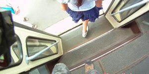European teen POV fucked in public