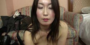 Subtitled Japanese gravure model hopeful POV blowjob in HD Porn Videos