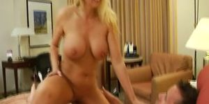 No Sound: Busty Milf Cala Works That Cock