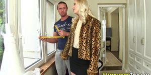 Hot fetish slut urinating