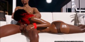 Black couple making love porn