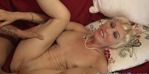 Bigtitted motherinlaw anally pounded by guy