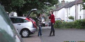 Stockings british blowing Porn Videos