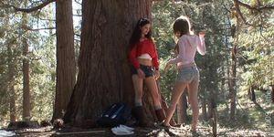 Faye Reagan and Georgia Jones Babes In The Woods.wmv