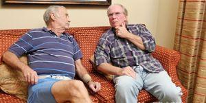 Sexy senior citizens porn - Young amateur sucks two senior citizens