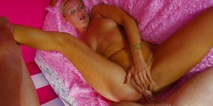 Mature Tattooed Blonde Gets Her Ass Stuffed