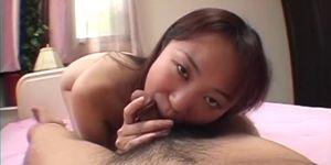 Stunning beauty Ryoko Yaka feels a talented guy working his magic