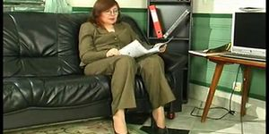 Russian mature laura by snahbrandy