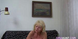 Blonde Gilf Micha Loves Porn