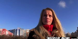 Czech Public Pickups Blonde Lucie