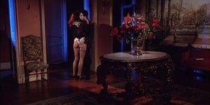 Julia Channel & Betty Gabor anal threesome & Ildiko slut fucks a big cock