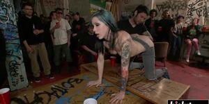Krysta Kaos loves hardcore BDSM pleasures
