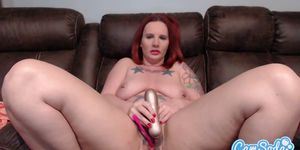 Mature tattooed lady toys
