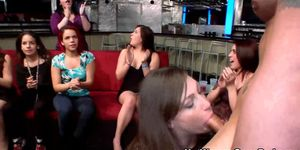 Real cfnm party girls facials