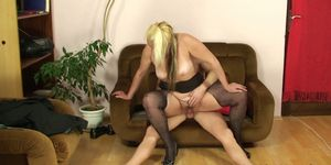 Guy and mother-in-law taboo sex