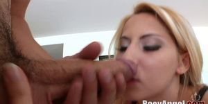 Madison Ivy Mouth Fucked and Facialized by Winston Burbank and Jonni Darkko Porn Videos