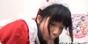 Swingeing bombshell yuuri hozumi enjoys undressing