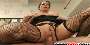 Horny Stacked Elle Cee gets Drilled