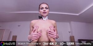 HoliVR 360 VR_ Easter Bunny Rides a Big Dick (bunny girl, Paola Mike)