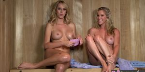 WHEN GIRLS PLAY - Twistys - Ainsley AddisonBrett Rossi starring at Hello Southern Belle
