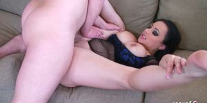 SCOUT69 - Big Ass and Tits MILF Sonya Sage get Fuck by Big Dick Guy