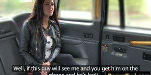 European slut pussydrilled by taxi driver POV Porn Videos