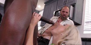 Cuckolders mouth spunked
