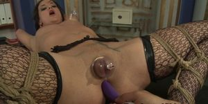 Facialized sub tormented by her maledom