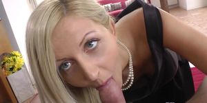 Young UK amateur gets POV pussy fucked