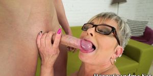 Feet licked old woman gets plowed