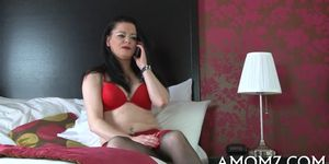 Horny mature is mad about cock Porn Videos